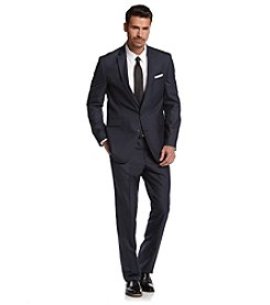 REACTION Kenneth Cole Men's Modern Blue Slim-Fit Suit Separates