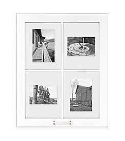 Malden Four-Image White Windowpane Collage Frame