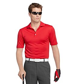 IZOD® Golf Men's Solid Grid Textured Polo Shirt