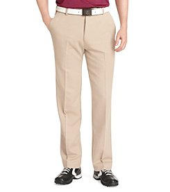 IZOD® Golf Men's Microsanded Flat Front XFG Pants
