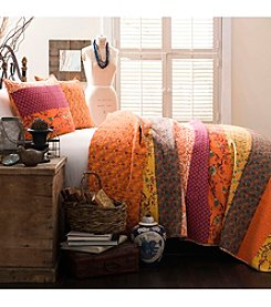 Lush Decor Royal Empire Tangerine 3-pc. Quilt Set
