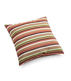 Zuo Modern Brown Base Multistripe Outdoor Pillow