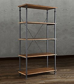 Home Interior Patton Wide Bookshelf