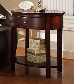 Home Interior Andover Espresso End Table