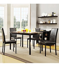 Home Interior Dorland 5-pc. Faux Marble Casual Dining Set