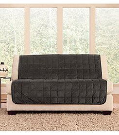 Sure Fit® Deluxe Armless Loveseat and Sofa Pet Cover