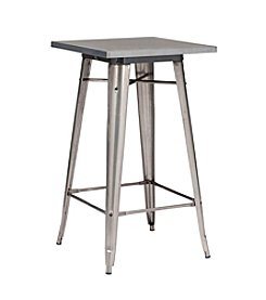 Zuo Modern Gunmetal Olympia Bar Table