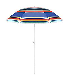 Picnic Time® Striped Umbrella