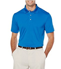 PGA TOUR Men's Airflux Solid Stretch Polo Shirt