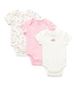 Little Me® Baby Girls' Pink 3-pk. Roses Bodysuits