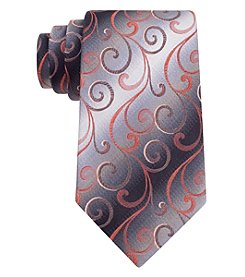 Van Heusen® Men's 'Swirly Vines' Silk Tie