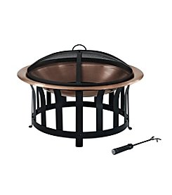 Crosley Furniture Ridgeway Copper Bowl Fire Pit