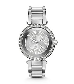 Michael Kors® Mid-Size Stainless Steel Parker Analog Glitz Watch