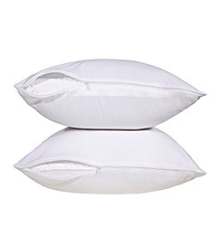 Stayclean Microfiber Pillow 2-pc. Protector Set