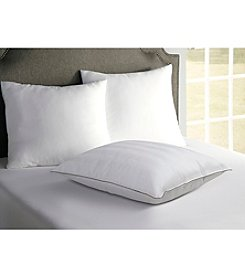 BEHRENS England® Tradition Sleep Cotton Damask Stripe Pillow with Satin Cording