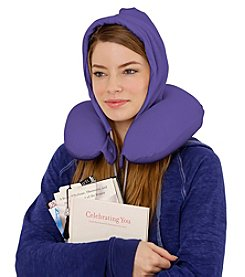 iDEAL Comfort™ U_HOOD™ Portable Memory Foam Pillow with Hoodie