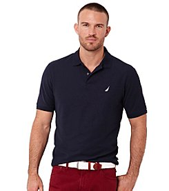Nautica Men's Big & Tall Performance Deck Polo Shirt