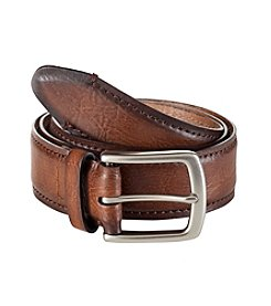 Levi's® Men's Tan 'Layered and Pad' Leather Belt