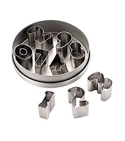 Cake Boss® Decorating Tools 9-pc. Stainless Steel Number Fondant and Cookie Cutter Set