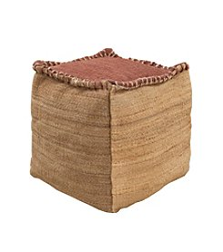 Chic Designs Clanton Decorative Pouf