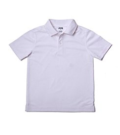 French Toast® Boys' 4-20 White Short Sleeve Sport Polo