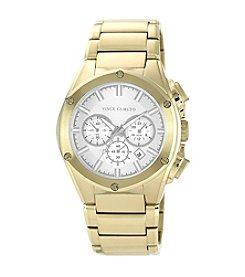 Vince Camuto™ Men's Octagon Shaped Goldtone Bracelet Watch