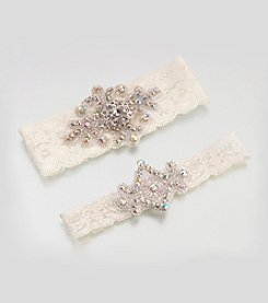 Lillian Rose® Jeweled Garter Set