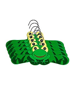 Kidorable™ 5-pk. Frog Hanger Set