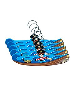 Kidorable™ 5-pk. Pirate Hanger Set