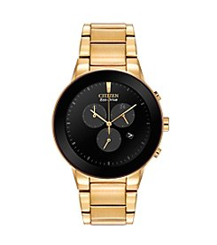 Citizen® Eco-Drive Men's Goldtone Axiom Chronograph Watch
