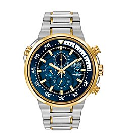 Citizen® Eco-Drive Men's Two-Tone Endeavor Chronograph Watch