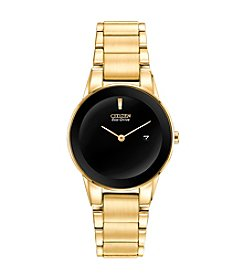 Citizen® Women's Eco-Drive Goldtone Axiom Watch