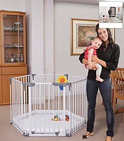 Dreambaby® Royal Converta® 3 in 1 Play-Yard and Wide Barrier Gate