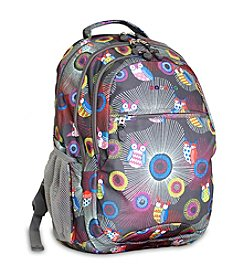 J World® Blazing Owl Cornelia Laptop Backpack