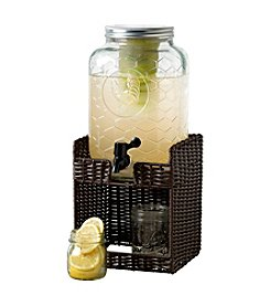 Gallery® Chicken Wire Drink Dispenser with Seagrass Base