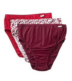 Jockey Plus Size Elance 3-pk. French Cut Panties