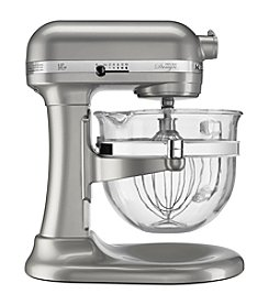 KitchenAid® KF26M22 Pro 600 Design Series Lift Stand Mixer with 6-qt. Glass Bowl + FREE Spiralizer Set see offer details