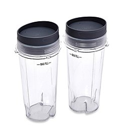 Ninja® Set of 2 16-oz. Single Serve Cups with Lids for Ninja® BL660 Pro Blender