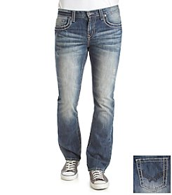 T.K. Axel MFG Co. Men's Vintage Bootcut Stretch Denim