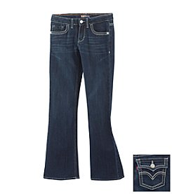 Levi's® Girls' 7-16 Indigo Thick Stitch Boot Cut Jeans