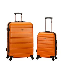 Rockland 2-pc. Expandable ABS Spinner Luggage Set