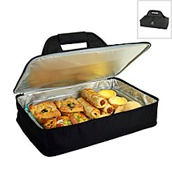 Picnic at Ascot Black Insulated Casserole Carrier