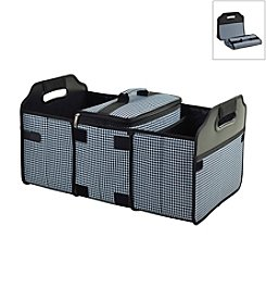 Picnic at Ascot Houndstooth Trunk Organizer and Cooler Set