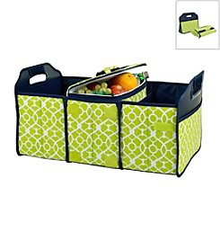 Picnic at Ascot Trellis Trunk Organizer and Cooler