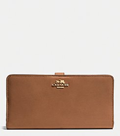 COACH MADISON LEATHER SKINNY WALLET