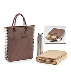 Picnic at Ascot London Coffee and Blanket Tote