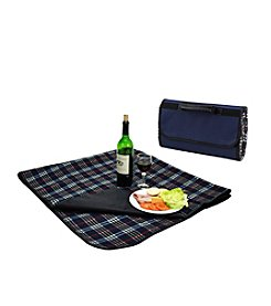 Picnic at Ascot Picnic Blanket with Attached Case