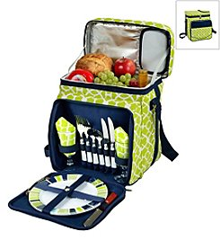 Picnic at Ascot Trellis Picnic Cooler for Two