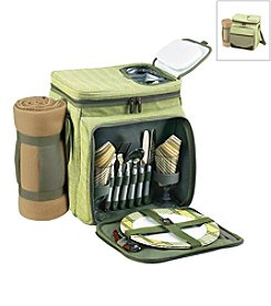 Picnic at Ascot Hamptons Picnic Cooler for Two with Blanket