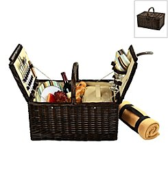 Picnic at Ascot Surrey Picnic Basket for Two with Blanket